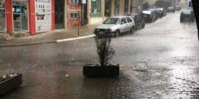 Shi e breshër në Prishtinë