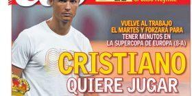 Tani Ronaldon mund ta shihni në Shkup