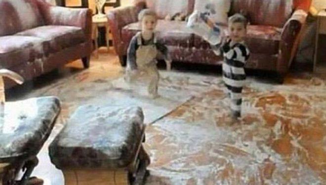 Imazhe që dëshmojnë se për asnjë moment nuk duhet t'i lini fëmijët vetëm nëvetëm