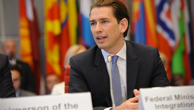 Kurz: Austria do ta mbështesë çdo marrëveshje mes Kosovës dhe Serbisë, edhe korrigjimin e kufijve