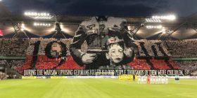 Koreografi shokuese e tifozëve të Legias, kujtojnë terrorin e nazistëve