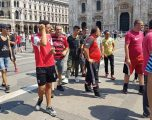 Atmosfera para ndeshjes Milan – Shkëndija (Foto)