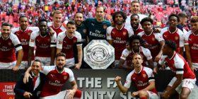 Arsenali fiton Superkupën e Anglisë (Video)