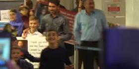 Bashkimi emocional pas 3 vjetësh, i fëmijës së rrëmbyer nga ISIS (VIDEO)
