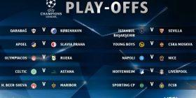 """Liverpooli e Napoli mësojnë kundërshtarët në """"play-offin"""" e Ligës së Kampionëve"""