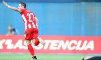 Europa League, Skënderbeu barazon në Zagreb