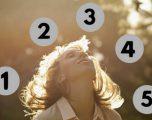 Test psikologjik/ Me një pyetje të vetme zbuloni se çfarë ka më shumë rëndësi në jetën tuaj