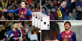 Katër herë nga katër gola, Messi 'mbret' i 'mbretërve' në La Liga
