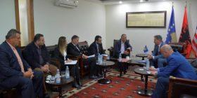 Oda e Afarizmit të Kosovës takon Ministrin Pal Lekaj