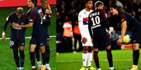 Cavani nuk është Messi, nuk e lejon Neymarin të gjuajë penalltinë ndaj Lyonit (Video)