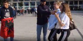 Eksperiment social: Kënd e zgjedhin vajzat gjermane, shqiptarin apo serbin? (Video)