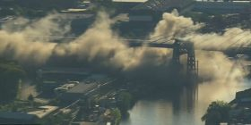 Pamje nga demolimi i urës 78-vjeçare në New York (Video)