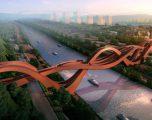 Tre në një, ura më interesante në botë (Foto/Video)