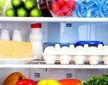 Sa gjatë guxoni t'i mbani ushqimet e ndryshme në frigorifer