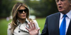 Teori konspirative: Paraqitjet publike të Melania Trump kanë nxitur njerëzit të mendojnë se ajo zëvendësohet nga një grua tjetër (Foto/Video)