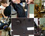 Imazhe të çuditshme nëpër klasa (Foto)