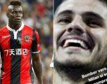 Balotelli polemika në rrjetet sociale me tifozët e Interit për Icardin