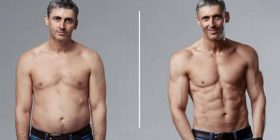 Njihuni me burrin që për vetëm 12 javë transformoi trupin e tij, tani të gjithë po ia kanë lakmi për muskujt (Foto/Video)