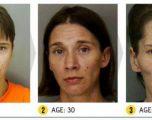 Foto tronditëse të efekteve të drogave në fytyrat e përdoruesve
