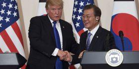 Presidenti Trump shpreh besim për zgjidhjen e krizës bërthamore të Phenianit