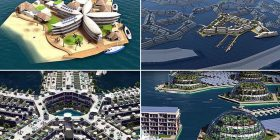 """""""Qyteti i parë lundrues"""" në botë, pritet të hapet në vitin 2020 (Foto/Video)"""