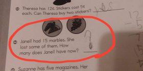 Detyrën për nxënësit e klasës së tretë pothuajse askush nuk po mund ta zgjidh, të gjithë menduan se kanë përgjigje të saktë – në fakt askush nuk e kishte