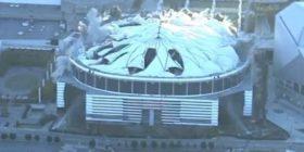 Momenti i shembjes së një nga stadiumet më të mëdha në SHBA, për vetëm 15 sekonda u bë rrafsh (Video)