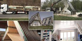 Shtëpitë që montohen për gjashtë orë dhe çmontohen e vendosen në lokacione tjera – kushtojnë vetëm 32 mijë dollarë (Foto/Video)