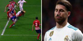 Momenti kur lojtari i Atleticos ia theu hundën Ramosit, Zidane nuk e di nëse kapiteni do të luajë ndaj Apoelit (Video)