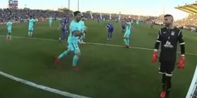 Se hakmarrja është gjithmonë e ëmbël, e tregon edhe festa e Suarezit në fytyrën e portierit të Leganes (Video)