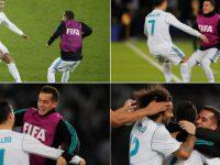 Vazquez tregon pse Ronaldo e festoi golin e finales me atë