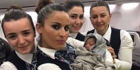 Një foshnje pakistaneze lind në bordin e një aeroplani!