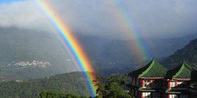 Fenomeni që theu rekord: Ylberi në Taiwan qëndroi rreth nëntë orë (Video)