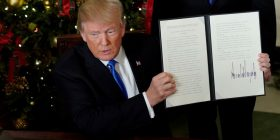 Reagime ndaj vendimit të Presidentit Trump për Jeruzalemin
