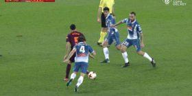 Busquets me disa lëvizje maestrale i jep leksione lojtarëve të Espanyolit (Video)