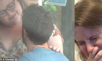 E zë të dashurin duke e tradhtuar me tjetrën, nuk mund të ndal lotët nga zhgënjimi (Video)