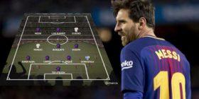 Barcelona dominon formacionin e stinorit vjeshtor, Real Madridi atë të dështimeve me Ronaldon në krye – Messi lojtari më i mirë (Foto)