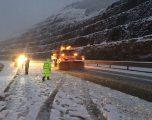 KUJDES! Rënie gurësh dhe dëborë në KËTO akse në Shqipëri. Ja apeli i policisë