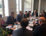 Behgjet Pacolli takohet me ambasadorët e shteteve mike të Kosovës
