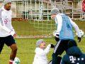 Përleshje te Bayern Munich, Rodriguez dhe Rudy ndalen nga bashkëlojtarët pas zënkës (Foto)