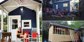 I lodhur nga çmimet e larta të qirasë, studenti amerikan ndërtoi shtëpinë prej 21 metra katrorë për 14 mijë dollarë (Foto)