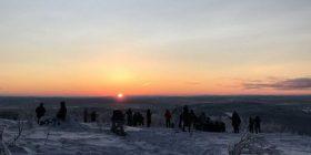 Pamje të rralla: Banorët më në fund e shohin diellin, pas 40 ditësh (Video)