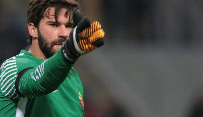 Notat e lojtarëve: Inter 1-1 Roma, shkëlqimi i Alisson dhe dështimi i Handanovic
