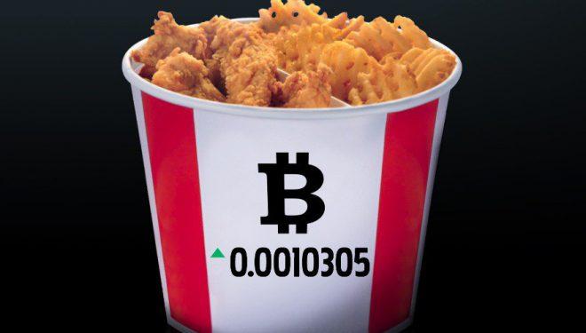 KFC në Kanada shet një vakt me vlerë 20 dollarë në bitcoin