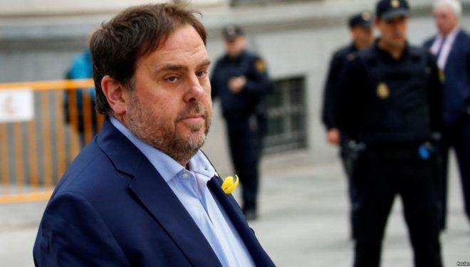 Gjykata e Lartë e Spanjës, paraburgim për nën presidentin e Katalonjës