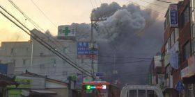Zjarr në një spital në Korenë e Jugut – dhjetëra të vdekur