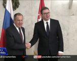 Kryediplomati rus Lavrov përfundon vizitën në Serbi