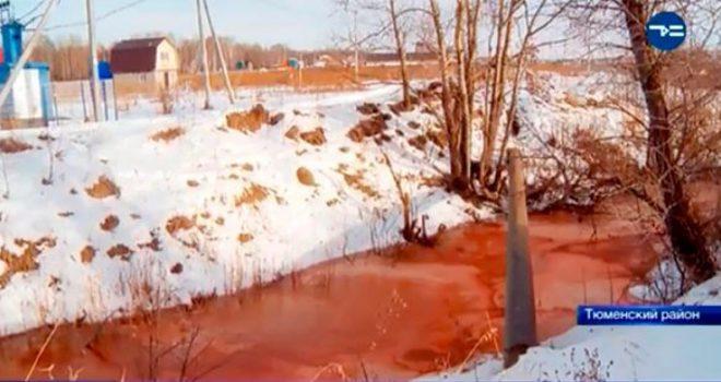 Lumi ndërron ngjyrën, bëhet i kuq – ekspertët e habitur nuk po e dinë shkakun (Foto/Video)