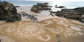 Skulptura mahnitëse të rërës (Foto)