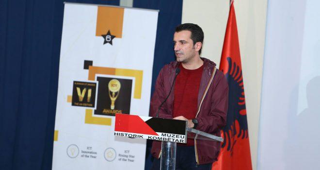 Erion Veliaj në ICT Awards, Piramida e Tiranës do të bëhet qendra më e madhe e IT në rajon